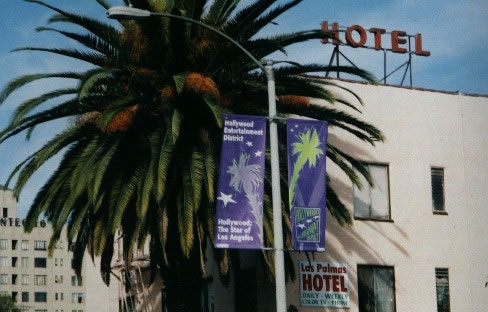 Hotel Used As Vivian S Apartment Building In Pretty Woman Located On A Sidestreet Just Off Of Hollywood Blvd